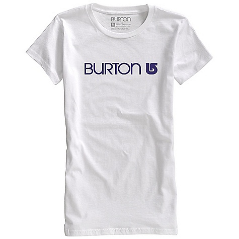 Snowboard On Sale. Burton Women's Her Logo SS Tee DECENT FEATURES of the Burton Women's Her Logo SS Tee 50% Cotton / 50% Polyester [Heather Heathers and Heather Blue-Ray] 100% Cotton [All Other Colorways] Silicone Fabric Treatment Screen Print on Front This product can only be shipped within the United States. Please don't hate us. - $17.99