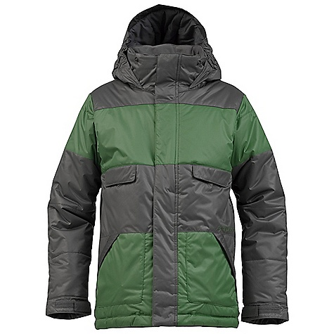 Snowboard On Sale. Free Shipping. Burton Boys' TWC Warm and Friendly Jacket DECENT FEATURES of the Burton Boys' TWC Warm and Friendly Jacket Waterproofing: Dry Ride Durashell 2-Layer Fabric and New Aquapel DWR Coating Warmth: mapped with Thermacore Insulation (200G Body / 140G Sleeves and Hood) and Taffeta Lining Velcro Closure Hand warmer Pockets Includes Boys' Jacket Features Package This product can only be shipped within the United States. Please don't hate us. - $68.99