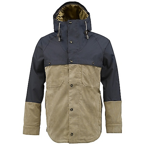 Snowboard On Sale. Free Shipping. Burton Men's Squire jacket DECENT FEATURES of the Burton Men's Squire jacket Warm and Wind-Resistant Filson 24-oz. 100% Virgin Mackinaw Wool Pair with Water-Repellent and Wind-Resistant Filson 8.5-oz. 100% Cotton Oil Finish Shelter Cloth Warmth: Quad Package mapped with 3M Thinsulate Platinum Insulation [40G Body] and Satin and Fleece Lining Collaborative Burton x Filson Signature Design Fulltime Contour Hood with Sherpa Fleece Lining and Custom Faux Leather Toggle Adjustments Sound/Goggle Pocket Removable Waist Gaiter with Jacket-to-Pant Interface Lifetime Warranty Includes The White Collection Women's Jacket Features Package This product can only be shipped within the United States. Please don't hate us. - $136.99