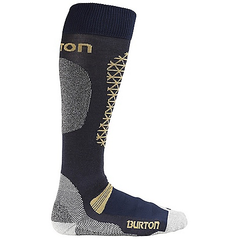 Snowboard On Sale. Burton Men's Merino Phase Sock DECENT FEATURES of the Burton Men's Merino Phase Sock 52% Nylon / 24% Merino Wool / 11% Polypropylene / 11% NanoGlide / 2% Spandex Medium and Extra-Density Cushioning Throughout Sock Quick-Drying and Stink- Proof Polypropylene Reinforced Footbed Elastic Arch and Ankle Supports Chafe-Free Link Toe Seam Sock Lock Reinforcements DryrideUltrawick Venting Toe Panels Ergonomic, Articulated Left and Right MotionFit Stay High Comfort Band Lightweight This product can only be shipped within the United States. Please don't hate us. - $14.99