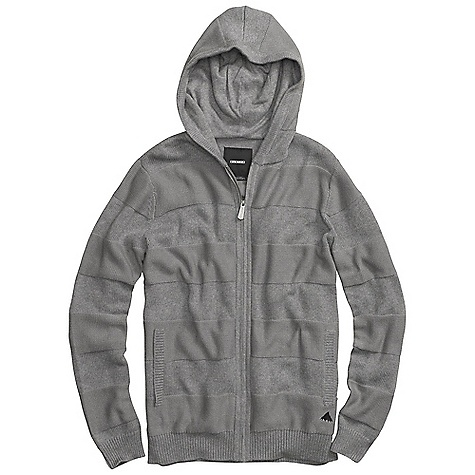 Snowboard On Sale. Free Shipping. Burton Men's Carver Sweater DECENT FEATURES of the Burton Men's Carver Sweater 90% Cotton, 10% Wool 5-Gauge Knit Full-Zip Sweater Alternating High-Low Stripe Pattern Signature Fit This product can only be shipped within the United States. Please don't hate us. - $58.99