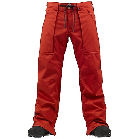 Snowboard On Sale. Free Shipping. Burton Men's Southside Pant DECENT FEATURES of the Burton Men's Southside Pant Waterproofing: Dryri De Durashell 2-Layer Oxford Fabric Warmth: Mapped with Mesh and Taffeta Lining All Colorways Available in Slim Fit or Mid Fit Fully Taped Seams Shoelace Waist Adjustment New Anti-Scuff Cuffs New Set and Forget Ghetto Slits Includes Men's Burton Pant Features Package This product can only be shipped within the United States. Please don't hate us. - $94.99