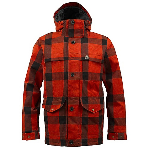 Snowboard On Sale. Free Shipping. Burton Men's 2L Hellbrook Jacket Premium DECENT FEATURES of the Burton Men's 2L Hellbrook Jacket Premium Waterproofing: New Dryri De Nanoshell 2-Layer Fabric Yarn-Dyed Raised Twill Fabric (Buffalo Plaid Colorways) Two-Tone Herringbone Fabric (Antique Herringbone Colorway) Warmth: Quad Package mapped with 3M Thinsulate Insulation 60G Front and Side Panels / 40G Sleeves and Hood and Satin Lining Drop Hood Construction Removable Lycra Hand Panties Sound/Goggle Pocket Premium Custom Trim Detailing Removable Waist Gaiter with Jacket-to-Pant Interface Lifetime Warranty Includes Men's Burton Jacket Features Package This product can only be shipped within the United States. Please don't hate us. - $238.99