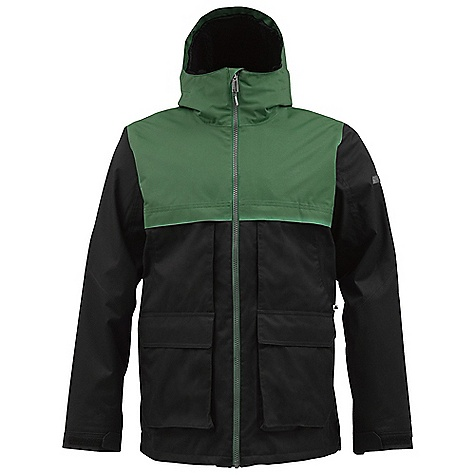 Snowboard On Sale. Free Shipping. Burton Men's Arctic Jacket DECENT FEATURES of the Burton Men's Arctic Jacket Waterproofing: Dryri De Durashell 2-Layer Fabric Warmth: Quad Package mapped with 3M Thinsulate Insulation (40G Body and Sleeves) and Sherpa Fleece and Taffeta Lining Fully Taped Seams Fulltime Contour Hood Thumb Grip Sound/Goggle Pocket Dual Handwarmer and Chest Pockets Removable Waist Gaiter with Jacket-to-Pant Interface Includes Men's Burton Jacket Features Package This product can only be shipped within the United States. Please don't hate us. - $130.99