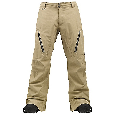Snowboard On Sale. Free Shipping. Burton Men's AK 2L Stagger Pant DECENT FEATURES of the Burton Men's AK 2L Stagger Pant GORE-TEX(R) Fabric [2-Layer] Fully Taped Seams GORE-SEAM(R) Tape [ak](TM) Fit with Engineered Articulation Test-I-Cool Zipper with Crossflow Venting YKK(R) Water-Resistant Zippers Fleece Butt and Knees Zippered Cargo Pockets Light Reflective Detailing This product can only be shipped within the United States. Please don't hate us. - $196.99