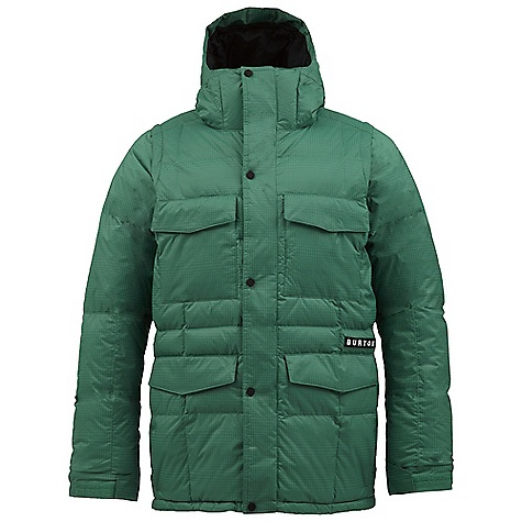 Snowboard On Sale. Free Shipping. Burton Men's Crack Down Jacket DECENT FEATURES of the Burton Men's Crack Down Jacket NEW DRYRIDE Nanoshell(TM) 2-Layer Soft Ripstop Dobby Fabric [15,000MM, 10,000G] Mapped with Engineered 550 Down Fill Insulation X-STATIC - The Silver Fiber(R) [40G Arm Pits] Taffeta Lining Men's Sig Fit Sound/Goggle Pocket Zip-Off Removable Sleeves Removable Face Mask Removable Lycra Hand Panties Cuff Gusset Stash Pocket Removable Waist Gaiter Jacket-to-Pant Interface This product can only be shipped within the United States. Please don't hate us. - $190.99