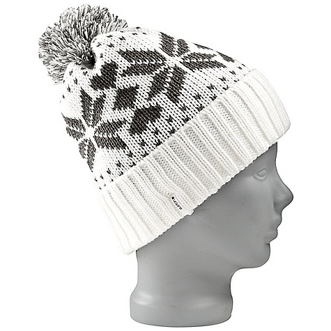Entertainment On Sale. Burton Women's Talini Beanie DECENT FEATURES of the Burton Women's Talini Beanie 100% Acrylic with Fleece Lining Snowflake Jacquard Fold Up Beanie with Pom Skully Fit This product can only be shipped within the United States. Please don't hate us. - $13.99
