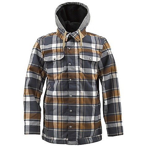 Snowboard On Sale. Free Shipping. Burton Men's Hackett Jacket DECENT FEATURES of the Burton Men's Hackett Jacket Waterproofing: Dryri De Durashell 2-Layer Yarn- Dyed Flannel Plaid Fabric Warmth: Quad Package mapped with 3M Thinsulate Insulation (40G Throughout) and Diamond Quilted Taffeta Lining Critically Taped Seams Bonded Heathered Fleece Contour Hood Flip-Up Collar Shield Sound/Goggle Pocket Removable Waist Gaiter with Jacket-to-Pant Interface Includes Men's Burton Jacket Features Package This product can only be shipped within the United States. Please don't hate us. - $130.99