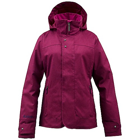 Snowboard On Sale. Free Shipping. Burton Women's Jet Set Jacket DECENT FEATURES of the Burton Women's Jet Set Jacket Waterproofing: Dryride Durashell 2-Layer Woven Dobby Fabric Warmth: Double Package mapped with 3M Thinsulate Insulation (40G Throughout) and Taffeta Lining Mesh-Lined Pit Zips Critically Taped Seams Fulltime Contour Hood Plush Collar Magic Stitch Removable Waist Gaiter with Jacketto-Pant Interface Includes Women's Burton Jacket Features Package This product can only be shipped within the United States. Please don't hate us. - $134.99