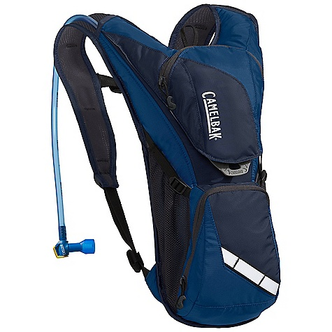 Entertainment Free Shipping. CamelBak Rogue 70oz Hydration Pack DECENT FEATURES of the CamelBak Rogue 70oz Hydration Pack Back Panel: Air Channel Harness: Air mesh External fill Multi tool Designed to Carry: Multi-Tool, Pump, Spare Tube, phone, Wallet, Keys The SPECS Hydration Capacity: 70 oz / 2 L Cargo Capacity: 200 cu in. / 3.28 L +2 L reservoir Weight: 9.5 oz / 270 g Torso Length: 15 in. / 38 cm Fabric: 70D Diamond Clarus with DWR + 1000mm PU coating Fabric: 210D Nylon with DWR + 400mm PU coating - $66.95