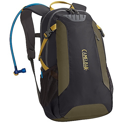 Camp and Hike Free Shipping. CamelBak Cloud Walker 70 oz Hydration Pack DECENT FEATURES of the CamelBak Cloud Walker 70 oz Front handle drop slot Air director back panel Diamond mesh harness Hike essentials pocket Side pockets Harness: Diamond Mesh with Slider Sternum Strap Compression straps Designed to carry: Extra layers, food, trail maps, compass DECENT FEATURES of the CamelBak Cloud Walker 70 oz Total capacity: 1098 cu in / 18L + 2L Reservoir Pack only weight: 1.23 lbs (.56 kg) Dimensions: 19 x 9.5 x 8 in (48 x 23 x 20 cm) Fabric straps: 70D Diamond Clarus & 420 Nylon with DWR + 1000 mm PU - $78.95