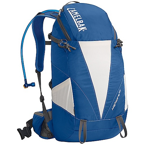 Fitness On Sale. Free Shipping. CamelBak Highwire 25 100 oz Hydration Pack DECENT FEATURES of the CamelBak Highwire 25 100 oz Pack Rear handle drop slot Lightweight ventilated back panel Independent suspension with perforated foam and slider sternum strap harness Load-bearing waist belt Ultra-light materials Tool attachments Sunglasses pocket Side stretch pocket Quick stash overflow storage Four point compression straps Designed to Carry: Suggested load range: 10-25 lbs. Extra layers, rain gear, food, head lamp, trail map, trekking poles, media, sunglasses The SPECS Total Capacity: 1343 cubic inches / 22 liter + 3 liter Reservoir Pack Only Weight: 1.79 lbs / .81 kg Dimension: 22 x 11 x 8.5in. / 56 x 28 x 22 cm Hydration Capacity: 100 oz / 3 liter Frame Size: 19 in / 48 cm Fabric: 70D Diamond Box Rip with DWR + 1000 mm PU - $80.99