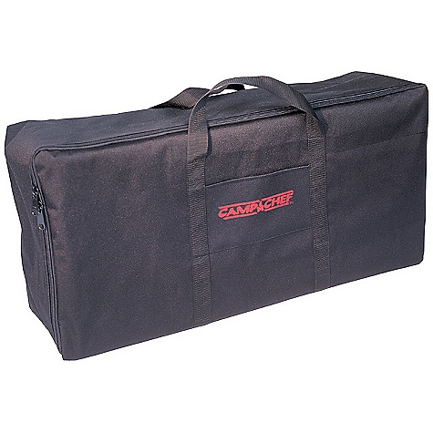 Camp and Hike Features of the Camp Chef Carry Bag for BB60X and Double Burner Cookers For stoves, grill boxes and griddles Industrial EZ glide zipper Weather-resistant liner Wrap handles for added support - $33.34