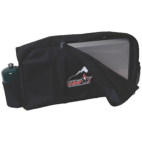 Camp and Hike Camp Chef Carry Bag for Mountain Series Stoves DECENT FEATURES of the Camp Chef Carry Bag for Mountain Series Stoves Fits all mountain series stoves Pockets for propane bottles Large carry handles Durable fabric The SPECS Box Dimension: (L x W x H): 7.5 x 14.5 x 2in. Box Weight: 1 lb - $27.08