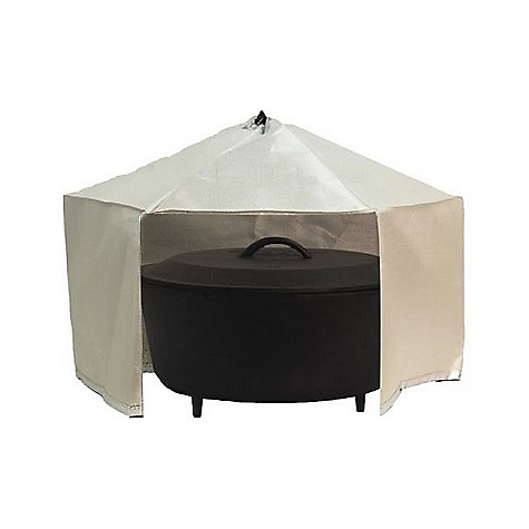 Camp and Hike Camp Chef Dutch Oven Dome DECENT FEATURES of the Camp Chef Dutch Oven Dome Creates a convection oven Provides the most effective heat distribution method for cooking with a Dutch oven The SPECS Box Dimension: (L x W x H): 9.5 x 14 x 2in. Box Weight: 2 lbs - $29.16