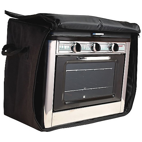Camp and Hike Free Shipping. Camp Chef Outdoor Camp Oven Bag DECENT FEATURES of the Camp Chef Outdoor Camp Oven Bag Weather-resistant liner Full zip for easy insertion of oven Padded bag helps protect your camp oven 2 easy carry handles Large EZ glide zipper The SPECS Box Dimension: (L x W x H): 11 x 13 x 6.5in. Box Weight: 3 lbs - $54.16