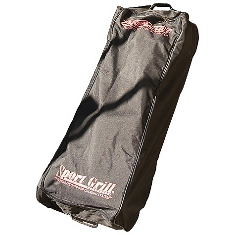 Camp and Hike Features of the Camp Chef Rolling Carry Bag for Three Burner Stoves For stoves, grill boxes and griddles Industrial EZ glide zipper Weather-resistant liner Wrap handles for added support - $66.67