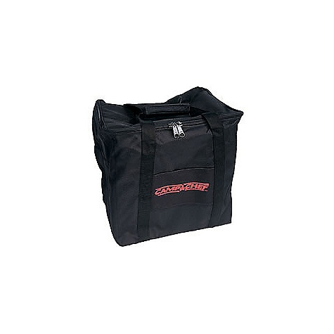 Camp and Hike Camp Chef Single Burner Carry Bag DECENT FEATURES of the Camp Chef Single Burner Carry Bag Durable fabric for simple transportation and storage of stove Heavy duty zippers Large #10 zipper The SPECS Box Dimension: (L x W x H): 15.25 x 8 x 2.25in. Box Weight: 2 lbs - $31.26
