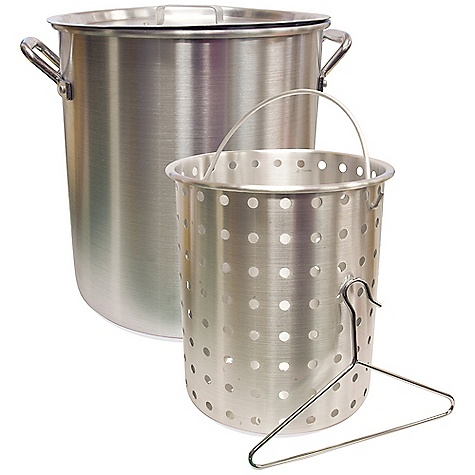 Camp and Hike Free Shipping. Camp Chef Aluminum Pot FEATURES of the Camp Chef Aluminum Pot Basket included 24 Qts 32 Qts 42 Qts - $56.26
