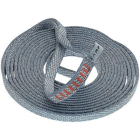 Climbing On Sale. Camp USA Express 12mm Dyneema Runner DECENT FEATURES of the Camp USA Express 12mm Dyneema Runner Rock Climbing, Alpinism, General Mountaineering Different lengths are color-coded for easy identification Rated to 22 kN The SPECS for 60 cm Weight: 37 g / 1.3 oz The SPECS for 120 cm Weight: 69 g / 2.4 oz The SPECS for 240 cm Weight: 135 g / 4.8 oz ALL CLIMBING SALES ARE FINAL. - $7.99