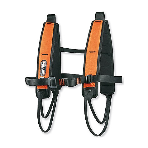 Climbing On Sale. Free Shipping. Cassin Mescalito Gear Sling FEATURES of the Mescalito Gear Sling by Cassin Aid Climbing Constructed from full-strength 45mm webbing Full-strength buckles Can be used as a full-strength chest harness Double-back aluminum alloy buckle on the chest Beefy, breathable padding in four places SPECIFICATIONS: Weight: 464 g / 16.4 oz ALL CLIMBING SALES ARE FINAL. - $58.99