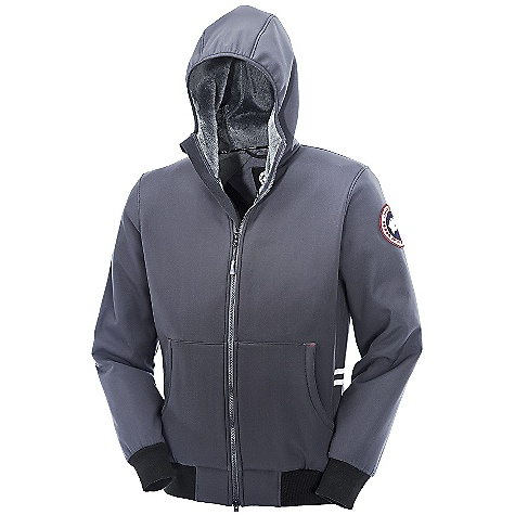 Free Shipping. Canada Goose Men's Tremblant Full Zip Hoody DECENT FEATURES of the Canada Goose Men's Tremblant Full Zip Hoody Hood with Lycra binding for full coverage and comfort Rib-knit cuffs and waistband Centre-front YKK 2-way locking zipper, with Canada Goose logo zipper pull Die-cut centre-front storm flap Reflective tape on the side seam panels for added visibility Canada Goose logo tape along inside collar Grab strap at the centre back Two lower hand warmer pockets Left inside mesh security pocket with internal Canada Goose wire port The SPECS Centre Back Length: 28in. / 71.12 cm Fill Power: Non-Insulated Fit: Slim Fit This product can only be shipped within the United States. Please don't hate us. - $324.95