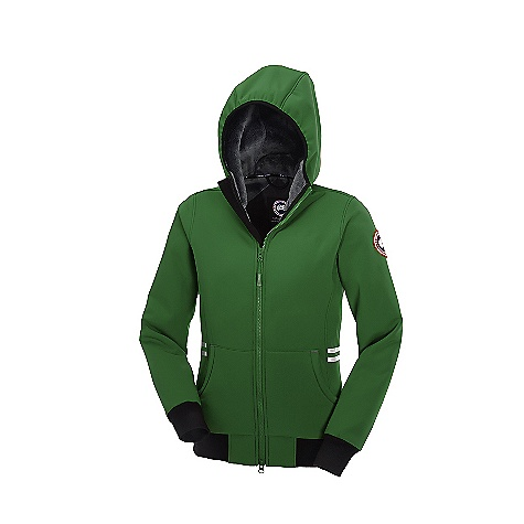 Free Shipping. Canada Goose Women's Tremblant Full Zip Hoody DECENT FEATURES of the Canada Goose Women's Tremblant Full Zip Hoody Hood with stretchable binding for full coverage and comfort Heavy-duty rib-knit cuffs and waistband Centre-front YKK 2-way locking zipper, with Canada Goose logo zipper pull Die-cut centre-front storm flap Reflective tape at the side seams for added visibility Canada Goose logo tape along inside collar Grab strap at the centre back Two self-fabric hand warmer pockets Left inside mesh security pocket with internal Canada Goose wire port The SPECS Centre Back Length: 25.5in. / 64.77 cm Fill Power: Non-Insulated Fit: Slim Fit This product can only be shipped within the United States. Please don't hate us. - $324.95