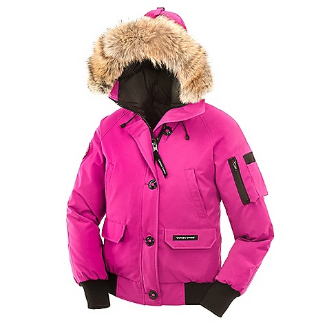 Hunting Free Shipping. Canada Goose Women's Chilliwack Bomber Jacket DECENT FEATURES of the Canada Goose Women's Chilliwack Bomber Jacket Bomber-length for exceptional mobility 2-way adjustable tunnel hood (vertically and hood opening) surrounded by a coyote fur ruff, with an adjustable bracing wire for superior protection in high-wind conditions Heavy-duty, centre-front YKK 2-way locking zipper Storm flap over centre-front zipper secured with buttons Two fleece-lined high-hand warmer pockets Two lower pockets with fleece lining, Ts ecured with Velcro flaps Utility pocket on left sleeve One interior security pocket Heavy-duty rib-knit cuffs and waistband The SPECS Centre Back Length: 25in. / 63.5 cm Fill Power: 625 fill power white duck down Fit: Regular Insulated This product can only be shipped within the United States. Please don't hate us. - $594.95