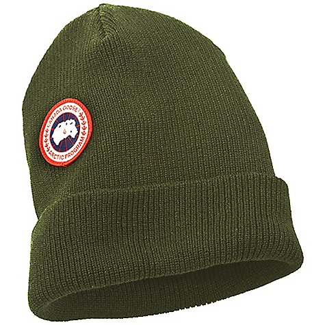 Entertainment Free Shipping. Canada Goose Merino Wool Watch Cap DECENT FEATURES of the Canada Goose Merino Wool Watch Cap Arctic disc positioned over left eye Versatile: Can be worn as slouchy or rolled up as a beanie The SPECS Shell: 100% knit Merino Wool This product can only be shipped within the United States. Please don't hate us. - $54.95