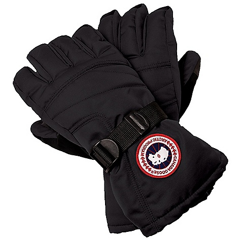 Free Shipping. Canada Goose Men's Down Glove DECENT FEATURES of the Canada Goose Men's Down Glove Water-resistant Nylon exterior for durability and weather-resistance Waterproof/breathable insert Reinforced palm and thumb Nose wipe on the thumb Finger loop for drying the glove Cuff closure secures with one-handed pull of the drawcord Canada Goose disc at the wrist The SPECS Fill Power: 525 fill power goose down Outer Shell: 100% Nylon Insert: 100% PU Palm: 47% PU, 53% Polyester Lining: 100% Polyester This product can only be shipped within the United States. Please don't hate us. - $125.00