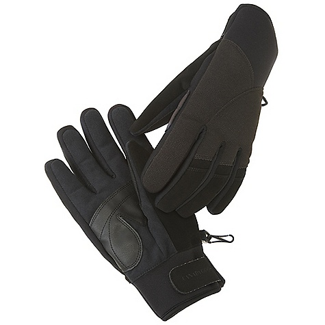 Free Shipping. Canada Goose Men's Winter Driving Glove DECENT FEATURES of the Canada Goose Men's Winter Driving Glove Water resistant outershell Reinforced palm and thumb for added comfort and durability Thumb nose wipe Branded Velcro cuff closure at the cuff helps keep the elements out Canada Goose flag label on outer side seam The SPECS Fill Power: 525 Fill Power Goose Down Shell: 85% Nylon, 13% Polyester, 2% Spandex Palm: 60% Nylon, 35% PU, 5% Polyester Lining: 100% Polyester This product can only be shipped within the United States. Please don't hate us. - $149.95
