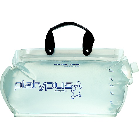 The Water Tank by Platypus is now vastly improved with a more durable and flexible film, new carry handle, and easier-to-close Big Zip opening. It also packs small and carries plenty, making it ideal for backpacking or base camping. Features of the Platypus Water Tank Easy Fill and Clean: Big, WideMouth opening Versatile: Can be used with GravityWorks system or even turned into a hydration reservoir Space Saver: Collapsible, lightweight design for efficient packing - $34.95
