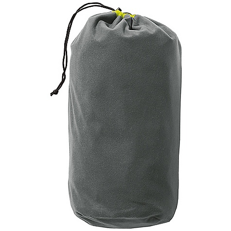 Camp and Hike Therm-A-Rest Stuff Sack Pillow DECENT FEATURES of the Therm-A-Rest Stuff Sack Pillow This ultralight, dual-purpose stuff sack doubles as a pillow when clothes are stuffed inside Features a micro fleece lining and a 20D silicone treated Cordura nylon exterior The SPECS for Small Dimension: 6.5 x 15in. / 17 x 38 cm Weight: 2 oz / 57 g The SPECS for Large Dimension: 8 x 17in. / 20 x 43 cm Weight: 2.7 oz / 77 g This product can only be shipped within the United States. Please don't hate us. - $18.95