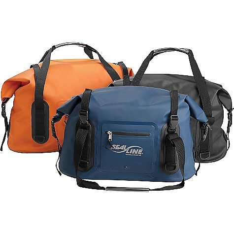 Entertainment Free Shipping. SealLine Wide Mouth Duffel DECENT FEATURES of the SealLine Wide Mouth Duffe Liter Built to handle the rigors of adventure travel and car-top hauling, this easy-to-load duffle features an expansive opening and external pocket for no-hassle organizing D-rings for use with a shoulder strap or tie-downs The SPECS Closure: Dry Seal dual-strip roll-down Material: 19-oz scrim-reinforced vinyl body, 30-oz scrim-reinforced vinyl body The SPECS for 40 Liter Weight: 1 lb 12 oz / 794 g Dimension: 12 x 12 x 22in. / 30.5 x 30.5 x 56 cm Volume: 2400 cubic inches / 40 liter The SPECS for 80 Liter Weight: 2 lbs 11 oz / 1220 g Dimension: 15 x 12 x 26in. / 38 x 30.5 x 66 cm Volume: 4800 cubic inches / 80 liter This product can only be shipped within the United States. Please don't hate us. - $89.95