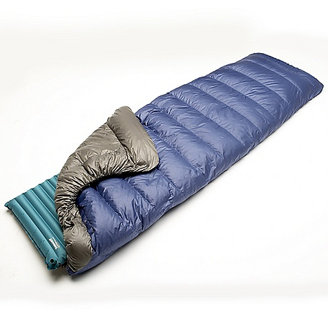 Camp and Hike Free Shipping. Therm-A-Rest Alpine 35F Down Blanket DECENT FEATURES of Therm-A-Rest Alpine 35F Down Blanket Sleep Securely: Blanket Construction offers free movement and temperature regulation. Sleep Warm: Insulated Baffles and an elasticized foot box create a seal around your mattress that keeps drafts at bay. Versatile: Included Loop Kit allows a wide range of attachment options. Carry Less: Lightweight, highly compressible 700-fill goose down insulation The SPECS Temperature Rating: 35deg F / 2deg C Fill: 750+ goose down Shell: 30D Nylon Ripstop with DWR Lining: 30D Nylon The SPECS for Regular Weight: 1 lb 9 oz / 715 g Fits Up To: 5 feet 10in. / 178 cm Girth: (Shoulder x Hip x Foot): 48 x 48 x 21in. / 123 x 123 x 53 cm Stuff Sack Size: 6 x 9in. / 15 x 23 cm The SPECS for Long Weight: 1 lb 12 oz / 803 g Fits Up To: 6 feet 4in. / 193 cm Girth: (Shoulder x Hip x Foot): 52 x 52 x 24in. / 123 x 132 x 61 cm Stuff Sack Size: 6 x 9in. / 15 x 23 cm This product can only be shipped within the United States. Please don't hate us. - $249.95