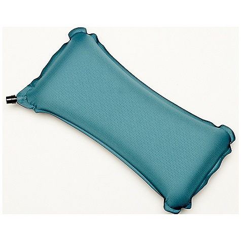 Camp and Hike The Therm-A-Rest Lumbar Pillow is a travel pillow for aching backs. The Lumbar Pillow Uses die-cut foam, to release pressure on your spine, while supporting the sides. The pillow is self-inflating, and adjusts with a puff or two from your lungs, or a slight opening of the valve. Ease the pain of your back on the next business trip with a little cushion. Features of the Therm-A-Rest Lumbar Pillow Drawing once again on our pressure mapping Technology, the redesigned Lumbar Pillow has been upgraded with die-cut foam down the center to reduce pressure along the spine while adding lateral support - $29.95