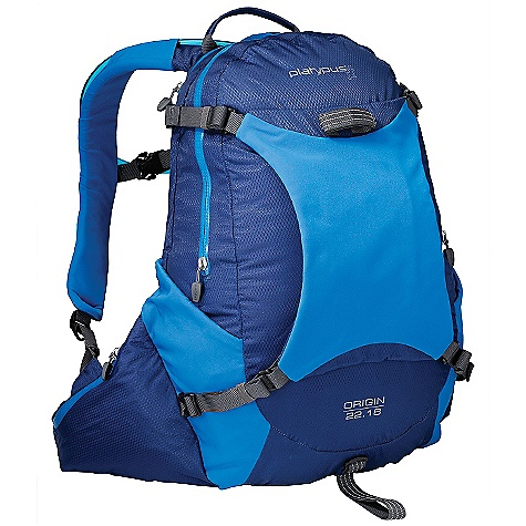 On Sale. Free Shipping. Platypus Origin 22 Hydration Pack DECENT FEATURES of the Cascade Designs Platypus Origin 22 Hydration Pack Weatherproof construction waterproof, 10,000mm-coated fabrics, welded, all-weather zippers and heat-taped seams Integrated hydration dedicated, easy-access compartment for included 2.0L Big Zip SL reservoir, options for top, bottom, left or right hose routing, lightweight reservoir suspension toggles, and locking hose clips Clean design precisely what you need and nothing you don't to keep things light and simple Refined fit 18 or 20-inch BioCurve back panel and ergonomic shoulder straps with soft, stretch-woven surfaces Essential features removable back compression/storage panel and ice axe loop - zippered waist pockets - internal organizer - welded light loop/lash points - reflective detailing The SPECS Gear Capacity: 22 liter Reservoir: 2.0 liter Big Zip SL Reservoir Weight: 5.5 oz / 157 g The SPECS for Origin 22.18 Back Length: 18in. / 45.7 cm Pack Weight: 1 lb 10 oz / 726 g The SPECS for Origin 22.20 Back Length: 20in. / 50.8 cm Pack Weight: 1 lb 11 oz / 757 g This product can only be shipped within the United States. Please don't hate us. - $89.99