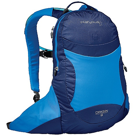 On Sale. Free Shipping. Platypus Origin 9.0 Hydration Pack DECENT FEATURES of the Cascade Designs Platypus Origin 9.0 Hydration Pack Weatherproof construction waterproof, 10,000mm-coated fabrics, welded, all-weather zippers and heat-taped seams Integrated hydration dedicated, easy-access compartment for included 2.0L Big Zip SL reservoir, options for top, bottom, left or right hose routing, lightweight reservoir suspension toggles, and locking hose clips Clean design precisely what you need and nothing you don't to keep things light and simple Refined fit bioCurve back panel, plus ergonomic shoulder straps with soft, stretch-woven surfaces and high and low shoulder strap attachment points for long and short torsos, respectively Essential features zippered waist pockets - internal organizer - welded light loop/lash points - reflective detailing The SPECS Gear Capacity: 9.0 liter Reservoir: 3.0 liter Big Zip SL Back Length: 18in. / 45.7 cm Pack Weight: 1 lb 2 oz / 497 g Reservoir Weight: 5.8 oz / 165 g This product can only be shipped within the United States. Please don't hate us. - $78.99