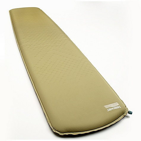 Camp and Hike Free Shipping. Therm-A-Rest Trail Pro Sleeping Pad DECENT FEATURES of the Therm-A-Rest Trail Pro Sleeping Pad The Trail Pro mattress is one of our warmest and most comfortable backpacking models Diagonal-cut foams bring added warmth by minimizing convective heat loss, while pressure mapping boosts comfort with targeted support and softness relative to the body's contours Women's versions feature added warmth for cold sleepers Stuff sack included The SPECS R-Value: 4.8 Thickness: 2in. / 5 cm Fabric: 75 d Polyester / 75 d Polyester The SPECS for Regular Dimension: 20 x 72in. / 183 x 51 cm Compressed Dimension: 11 x 6.6in. / 28 x 17 cm Weight: 2 lbs / 910 g The SPECS for Large Dimension: 25 x 77in. / 196 x 63 cm Compressed Dimension: 13 x 6.7in. / 33 x 17 cm Weight: 2 lbs 11 oz / 1210 g This product can only be shipped within the United States. Please don't hate us. - $89.95