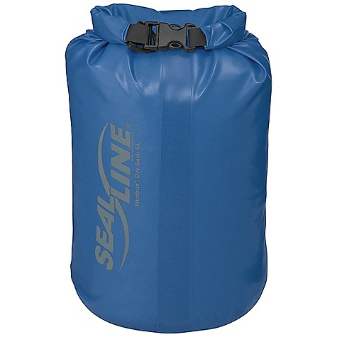 The SealLine Nimbus Sack is a dry sack for keeping weight down. Lightweight and ready to protect your gear from getting soaked. These waterproof beauties have been urethane-coated on the inside AND outside. Use 'em, abuse 'em, and they'll still treat your gear right. Features of the SealLine Nimbus Sack The Nimbus dry sacks offer the perfect combination of light weight and exceptional durability; ideal for minimalist journeys to remote locales and everyday abuse in places where packing light is key Light and Strong: Advanced fabrics, coatings and RF-welded construction offer exceptional durability Waterproof protection: Tough, 210D nylon is urethane-coated inside and out for added protection Secure closure: Our finest, Dry Seal roll-down top offers added burst resistance thanks to the tenacious urethane coating PVC-Free: Eco-friendlier coatings reduce environmental impact - $21.95