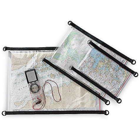 SealLine Map Case DECENT FEATURES of the SealLine Map Case Featuring a wide-track watertight seal, this case provides ample protection for your maps and other navigational documents on the road or on the water Webbing handle with D-rings for securing case The SPECS Closure: Zip-seal Material: 12-oz clear vinyl The SPECS for Small Weight: 2.5 oz / 80 g Outside Dimension: 8 x 12in. / 20 x 30 cm Inside Dimension: 6 x 10.5in. / 16 x 27 cm The SPECS for Medium Weight: 5.8 oz / 165 g Outside Dimension: 13.5 x 16in. / 34 x 41 cm Inside Dimension: 13 x 15in. / 33 x 38 cm The SPECS for Large Weight: 7 oz / 225 g Outside Dimension: 16 x 22in. / 41 x 56 cm Inside Dimension: 14 x 20.5in. / 38 x 52 cm This product can only be shipped within the United States. Please don't hate us. - $14.95