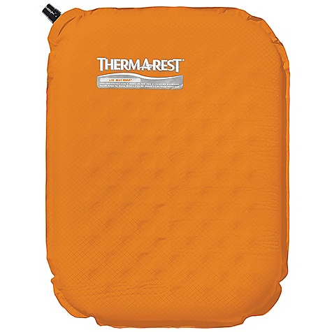Camp and Hike Therm-A-Rest Lite Seat DECENT FEATURES of the Therm-A-Rest Lite Seat The ultralight, compact Lite Seat is tailor-made for fast and light adventures It's self-inflating and rolls up small enough to carry easily The SPECS Dimension: 11 x 15in. / 28 x 38 cm Weight: 3 oz / 90 g Thickness: 1.5in. / 3.8 cm This product can only be shipped within the United States. Please don't hate us. - $29.95