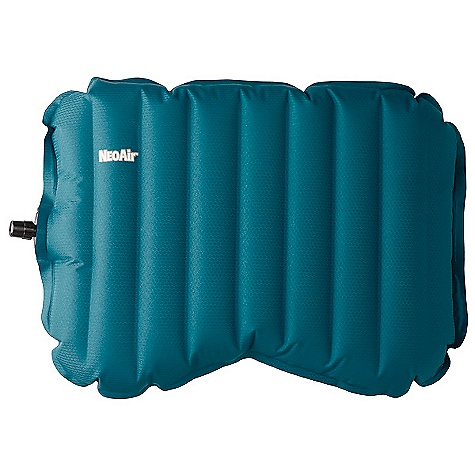 Camp and Hike Therm-A-Rest NeoAir Pillow DECENT FEATURES of the Therm-A-Rest NeoAir Pillow Support your head and neck without straining your back: NeoAir technology gives full-size support for side and back sleepers without the weight and bulk of a typical pillow Deflated, this pillow takes up a miniscule amount of space in your pack Combine it with a Therm-a- Rest Down Pillow for the ultimate in backcountry comfort and support Stuff sack included The SPECS for Small Dimension: 9 x 11 x 2.5in. / 23 x 28 x 5 cm Weight: 1.9 oz / 55 g The SPECS for Medium Dimension: 11 x 15 x 2.5in. / 28 x 38 x 5 cm Weight: 3.1 oz / 90 g This product can only be shipped within the United States. Please don't hate us. - $34.95