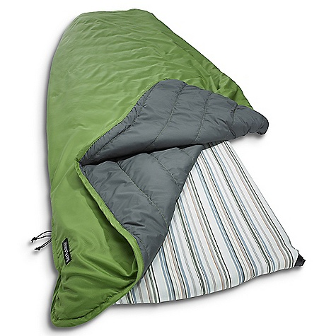 Camp and Hike The Therm-A-Rest Tech Blanket is a camping blanket for mild to warm summer nights. The lightweight blanket zips into it's own pocket for travel and comes in at a mere 1 lb, 2 oz (1 lb, 15 oz for the large). The polyester lining is soft against the skin and the synthetic fill is ready for sleeps or hanging fireside. The snaps at the perimeter allow you to connect it to your Therm-A-Rest mattress with a Universal Sheet or Fast & Light Snap Kit (both sold separately). Features of the Therm-A-Rest Tech Blanket This lightweight outdoor blanket Features a synthetic fill and a sofeet polyester lining that provides homelike comfort anywhere It's perfect for warm-weather camping, a chilly evening next to the campfire, or an extra layer at night Stuffs into its own pocket for easy packing - $41.99