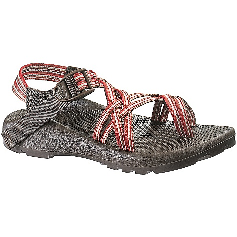 Entertainment Free Shipping. Chaco Women's ZX/2 Unaweep Sandals FEATURES of the Chaco Women's ZX/2 Unaweep Sandals Upper: Polyester jacquard webbing Upper double straps, with toe loop, wraps around the foot and through the midsole for the ultimate customized fit Adjustable and durable high tensile webbing heel risers Custom injection molded ladder lock for a secure hold Midsole: Durable, women's specific LUVSEAT polyurethane footbed with slip resistant classic diamond pattern design Outsole: Non-marking Unaweep Outsole with Vibram TC-1 rubber and 4.5mm lugs for maximum traction and durability on land and water - $104.95