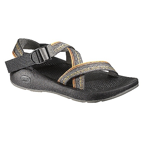 Entertainment On Sale. Free Shipping. Chaco Men's Z-1 Yampa Sandal DECENT FEATURES of the Chaco Men's Z/1 Yampa Sandal Single webbing strap wraps your foot for a customized fit Yampa outsole provides slip-free and light-weight traction The SPECS Weight: 14.89 oz / 422 g The SPECS for Upper Polyester jacquard webbing upper Cement construction Custom Adjust'em fit The SPECS for Midsole ChaPU polyether polyurethane midsole Luvseat XO1 platform The SPECS for Outsole Vibram TC-1 rubber 2-3 mm water ready surface contact lugs High friction and all purpose tread design Non-marking - $69.99
