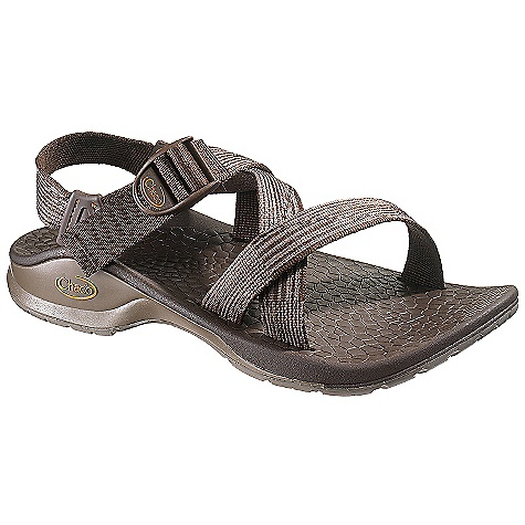 Entertainment On Sale. Free Shipping. Chaco Men's Updraft Bulloo Sandal DECENT FEATURES of the Chaco Men's Updraft Bulloo Sandal A single strap wraps your foot for a customized and secure fit Light-weight support cushions each step with the patterned polyurethane footbed The SPECS Weight: 12.80 oz / 363 g The SPECS for Upper Polyester jacquard webbing with TPU heel riser Cement construction Custom Adjust'em fit The SPECS for Midsole ChaPU polyether polyurethane footbed with TPU frame Luvseat XO3 platform The SPECS for Outsole Bulloo outsole with Vibram TC-1 Rubber 2-3mm water-ready surface contact lugs Non-marking - $75.99