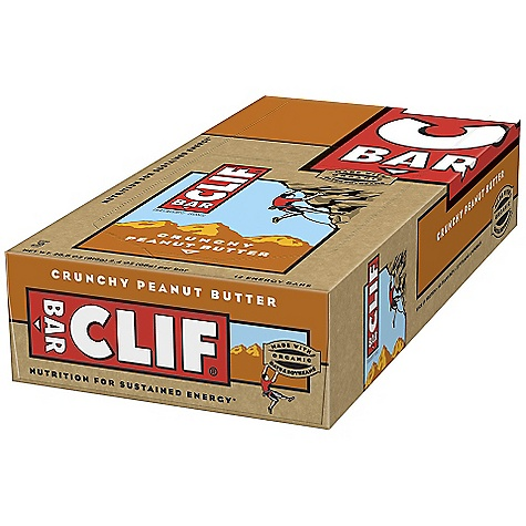 Camp and Hike Clif Bar Clif Bar Box It's the first bar Cliff made, and it's still everything they're about. Whole, all-natural, organic ingredients. Good nutrition. And great taste. Whether you're on a 150-mile bike ride or making your way through a long day, it's the energy bar for everyone. - $16.68