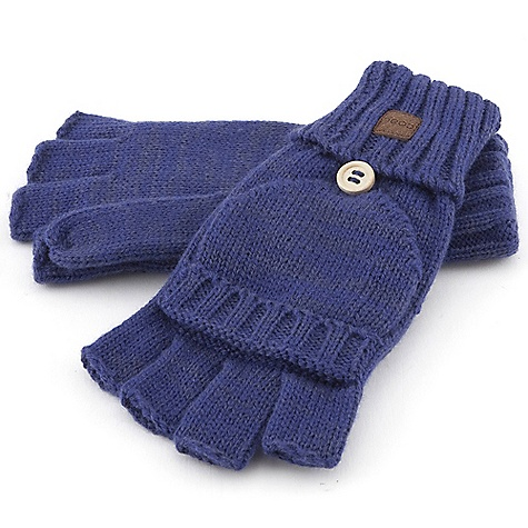 On Sale. Coal Women's Cameron Glove DECENT FEATURES of the Coal Women's Cameron Glove A fingerless glove Convertible mitten top that is perfect for those cold winter days Wood button detail Suede label at cuff - $18.99