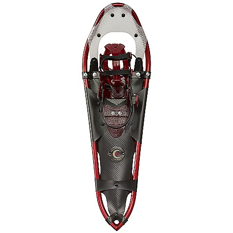 Free Shipping. Crescent Moon Gold 10 Snowshoes FEATURES of the Crescent Moon Gold 10 Snowshoes Teardrop shaped frame for more athletic feel than traditional shapes SPL binding system which provides a perfect performance fit 3 stainless steel crampons PLUS additional traversing claws Teardrop shape frame for a natural stride and optimal flotation TIG welded powder coated aluminum frame for greater strength and durability The SPL binding distributes the tension equally around your foot to provide the best possible fit TGS decking material is stable and durable in all snow conditions. Contains no PVC - $268.95